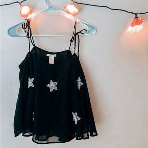 Barely worn blouse. Adorable for New Year's eve!